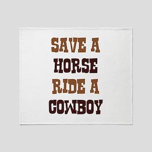 Save A Horse Stadium Blanket