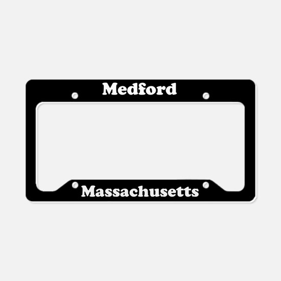 Medford MA License Plate Holder