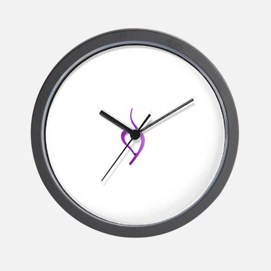 Cute Eating disorder Wall Clock