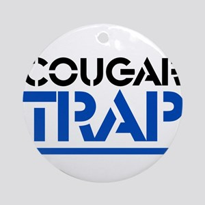 Cougar Trap Ornament (Round)