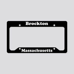 Brockton MA License Plate Holder