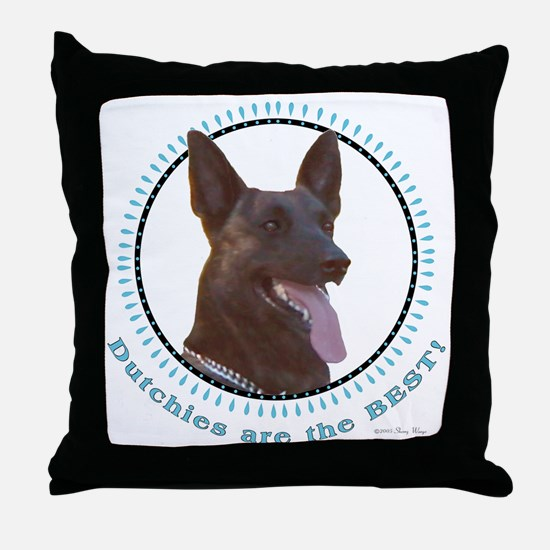 Dutchies Are Best Throw Pillow