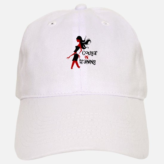 Cougar in Training Baseball Baseball Cap