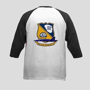 F-18 Blue Angels Kids Baseball Jersey