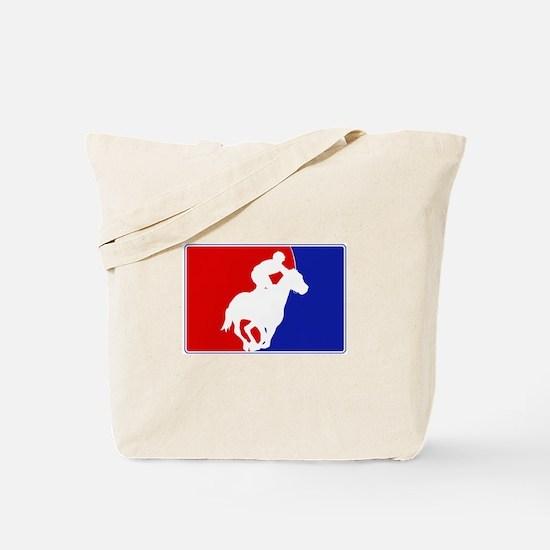 Major League Horse Racing Tote Bag