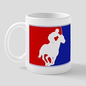 Major League Horse Racing Mug