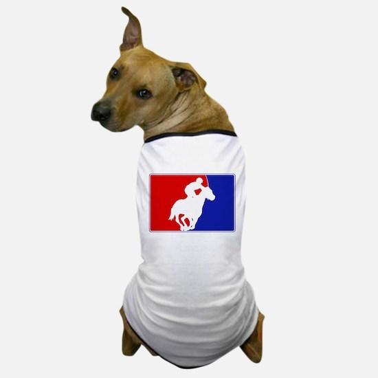 Major League Horse Racing Dog T-Shirt