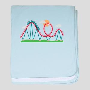 Roller Coaster baby blanket
