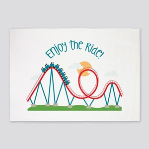 Enjoy The Ride 5'x7'Area Rug