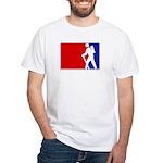 Major League Hiking White T-Shirt
