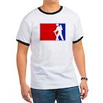 Major League Hiking Ringer T