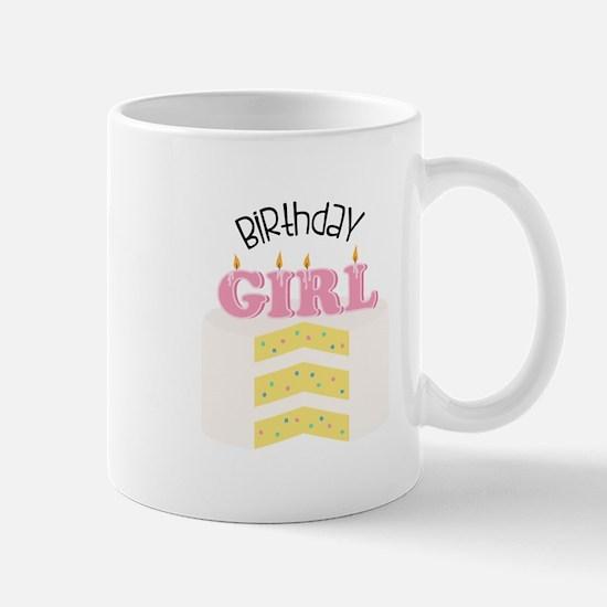 Birthday Girl Cake Mug