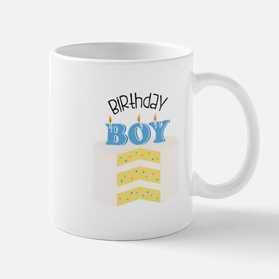Birthday Boy Cake Mug
