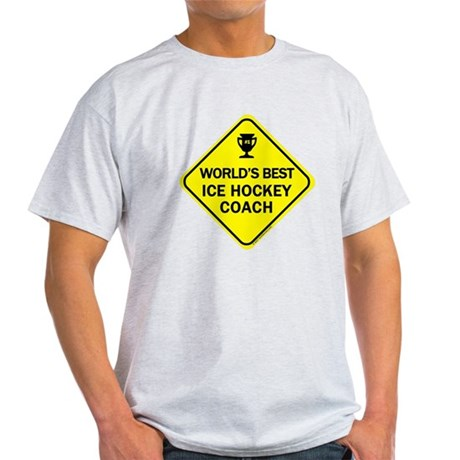 Ice Hockey Coach Light T-Shirt