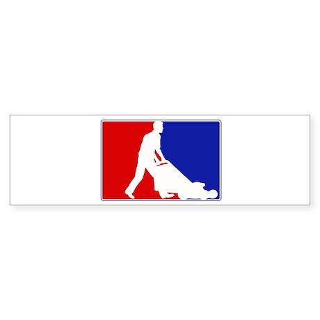 Major League Garden Bumper Sticker