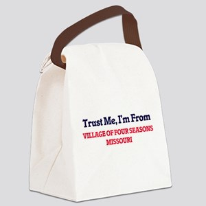 Trust Me, I'm from Village Of Fou Canvas Lunch Bag
