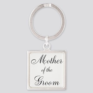 Mother of the Groom Black Script Keychains