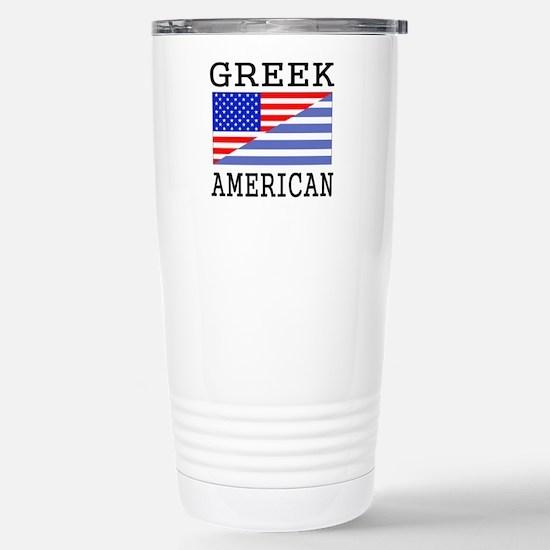 Greek American Flag Mugs