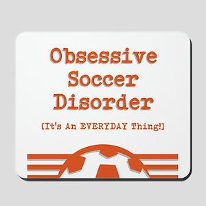 Obsessive Soccer Mousepad