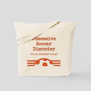 Obsessive Soccer Tote Bag