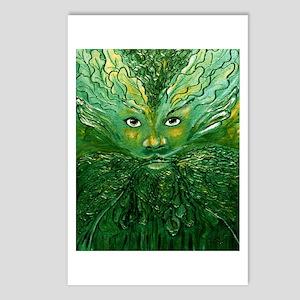 Greenman Postcards (Package of 8)