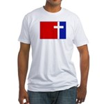 Major League Christianity Fitted T-Shirt