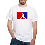 Major League Bungee Jumping White T-Shirt