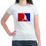 Major League Bungee Jumping Jr. Ringer T-Shirt
