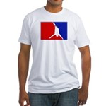Major League Bungee Jumping Fitted T-Shirt