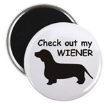 Check Out My Wiener Magnet