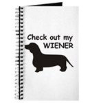 Check Out My Wiener Journal