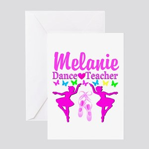 DANCE TEACHER Greeting Card