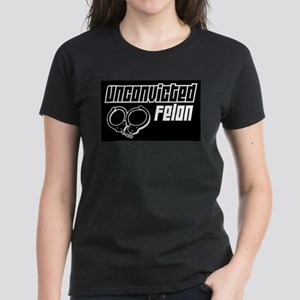 Unconvicted Felon Women's Dark T-Shirt