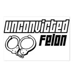 Unconvicted Felon Postcards (Package of 8)