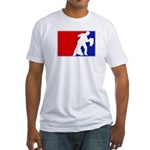 Major League Ballroom Dancing Fitted T-Shirt