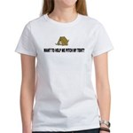 Pitch My Tent Women's T-Shirt