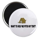 Pitch My Tent Magnet