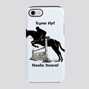 Eyes Up, Heels Down iPhone 8/7 Tough Case