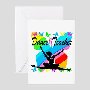 BALLET TEACHER Greeting Card
