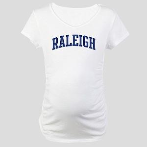 RALEIGH design (blue) Maternity T-Shirt
