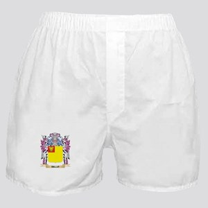 Billo Coat of Arms (Family Crest) Boxer Shorts