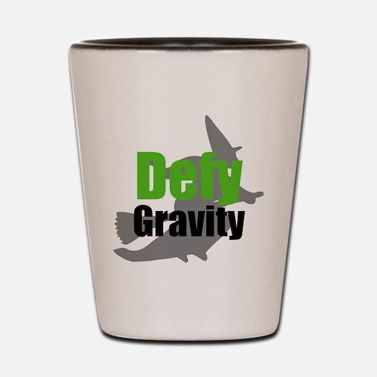 Cute Defy gravity wicked Shot Glass