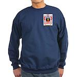 Weinrot Sweatshirt (dark)
