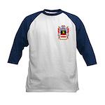 Weinrot Kids Baseball Jersey