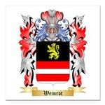 Weinrot Square Car Magnet 3