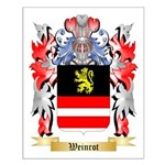 Weinrot Small Poster