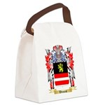 Weinrot Canvas Lunch Bag