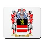 Weinrot Mousepad