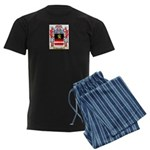 Weinrober Men's Dark Pajamas