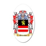 Weinrober 20x12 Oval Wall Decal
